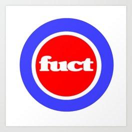 Fuct Logo Art Print