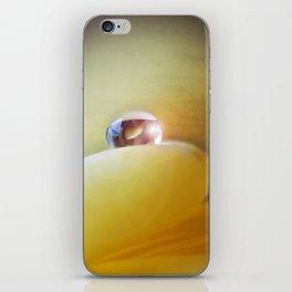 Yellow tear iPhone Skin
