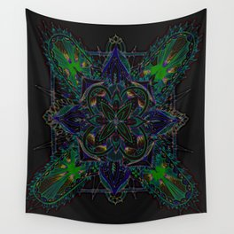 Divine Intention 6: Solar Edition Wall Tapestry