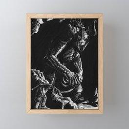 Dragon Framed Mini Art Print