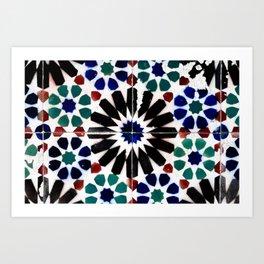 Time-worn tiles Art Print