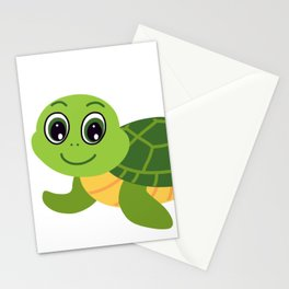 What Does The Turtle Say? Stationery Cards