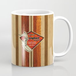 Waimea Hawaiian Surfboard Design Coffee Mug