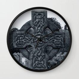 'CELTIC CROSS' Wall Clock