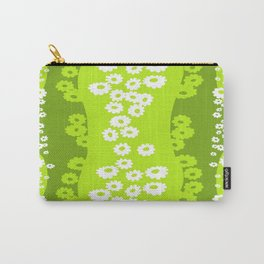 sunflower green Carry-All Pouch