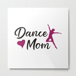 Dance Love Dancing Party Sport Dancer Gift Idea Metal Print