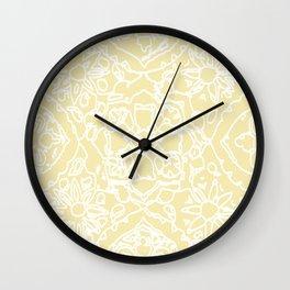 Isola Signature Print Lemon  Wall Clock
