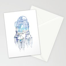 R2D2 Print Stationery Cards