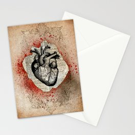 Corazón Sangriento Stationery Cards