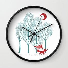 Go Wild! Wall Clock