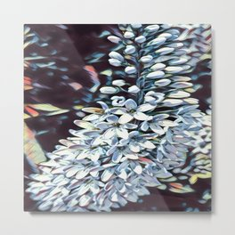 Cascading flowers Metal Print