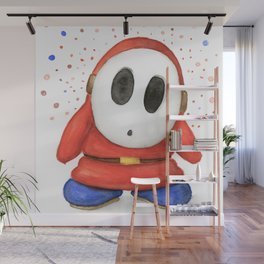 Confused Shy Guy Wall Mural