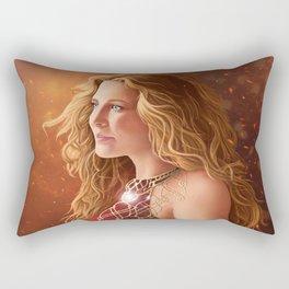 Soul on Fire Rectangular Pillow