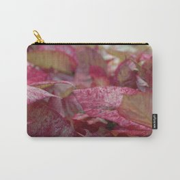 C Flowers Carry-All Pouch