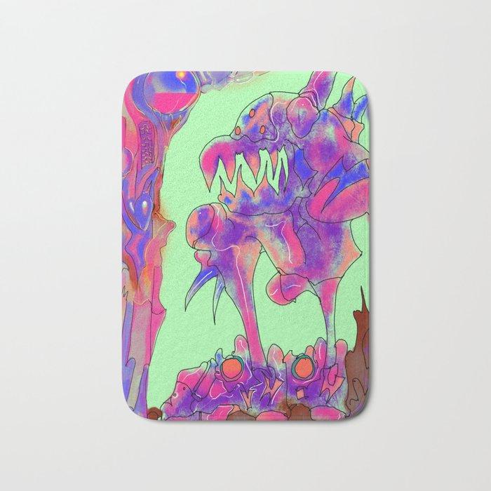 chomp chomp 03 Bath Mat