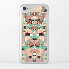 Tribal Technology 1 Clear iPhone Case