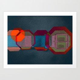 JETSON'S BELT 04 Art Print