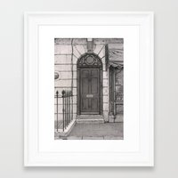 221b Framed Art Prints featuring 221b by v0ff