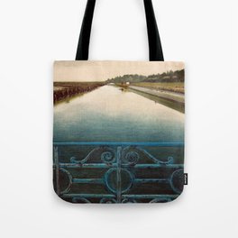CLOUDY DAY IN SALINAS Tote Bag