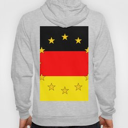 German European Union Flag Hoody