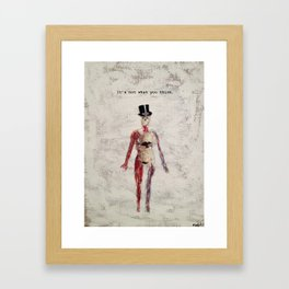 It's not what you think Framed Art Print