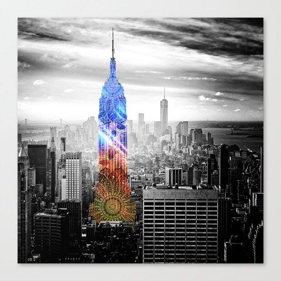 Funky Landmark - NY Canvas Print