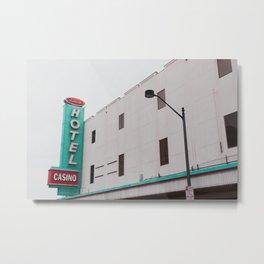 Binion's Hotel & Casino Metal Print