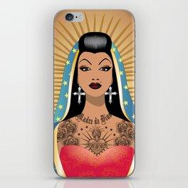 Chola Guadalupe iPhone Skin