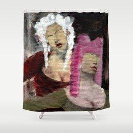 Dame/Newspaper Serie Shower Curtain