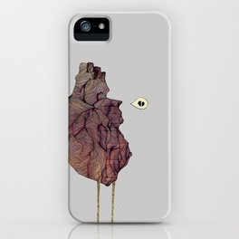 This is not a colorful heart iPhone Case