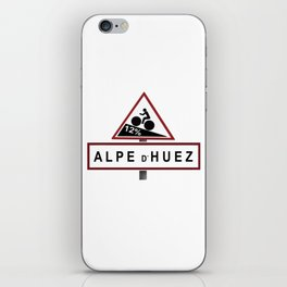 Alpe d'Huez Road Sign iPhone Skin