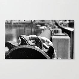 Dam Gears Canvas Print