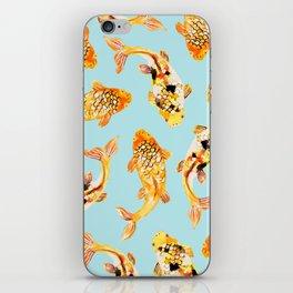 Goldfish #society6 #decor #buyart iPhone Skin