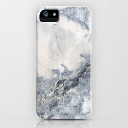 Gray Marble Texure iPhone Case