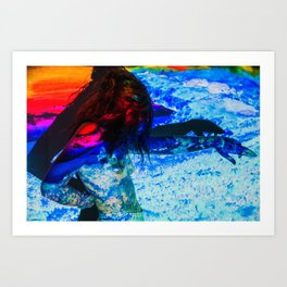 Untitled: Projection Series #14 Art Print