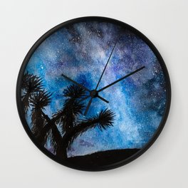 Desert Stars Original Watercolor Wall Clock