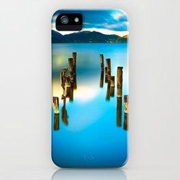 Pier Ruin In Lago Di Massaciuccoli Lucca Italy Ultra HD iPhone Case