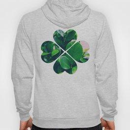 Green leaves Hoody