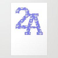 2A Anchor Print Art Print
