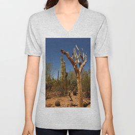 In The Desert Unisex V-Neck