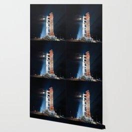 Apollo 17 - Moonlight Launchpad Wallpaper
