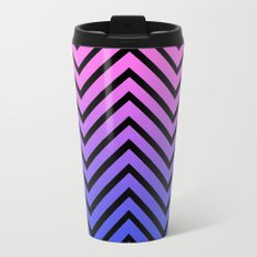 Donata Chevron Metal Travel Mug