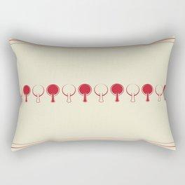 All In A Line Rectangular Pillow