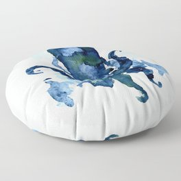 Oceanic Octo Floor Pillow