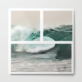 Own That Blue Ocean Metal Print