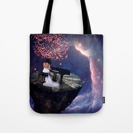 """Into The Void""  Tote Bag"