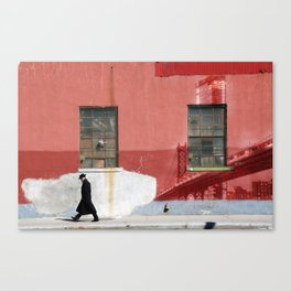 Brooklyn wall art 2 Canvas Print