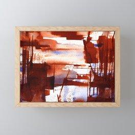 shipyard Framed Mini Art Print