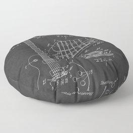 Guitar Patent Gibson Vintage Les Paul Floor Pillow