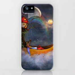 The daysleeper and his companions iPhone Case
